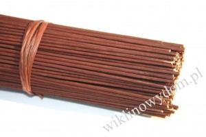 Rattan kolorowy Brown