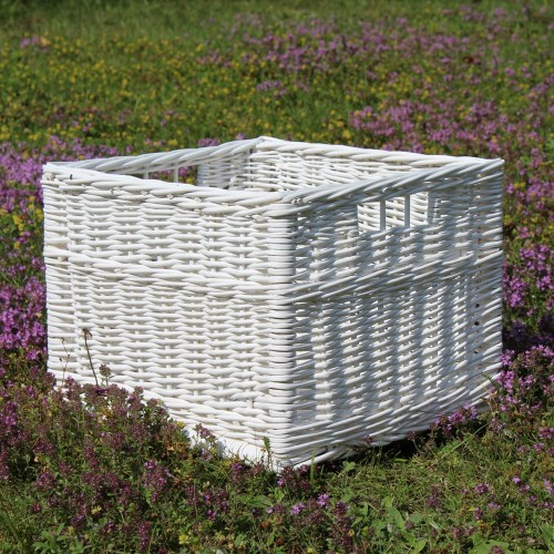 Willow Box M White z okienkami